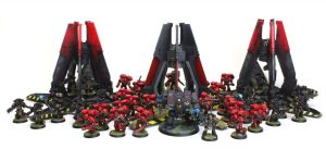 Death Company Tycho and the Blood Angels by jstncloud