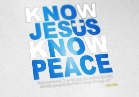 Know Jesus 1 by princef