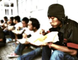 The Street Lunch by kalbissamai