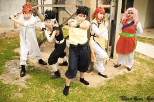 Yuu Yuu Hakusho: We Will Not Back Down! by skypegasus