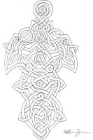 Celtic Knotwork Dagger by Kajiblade