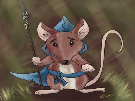 Mouse Guard Quickie by Faeriedreamer