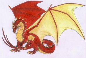 Smaug the Magnificent by Scatha-the-Worm