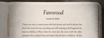 Fanwood by chemoelectric
