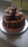 choc orange cake by Pandoraducelet