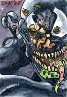 Venom 3 Sketch Card by DKuang