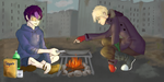 Postapocalyptic Pancakes by t3h-b4n3