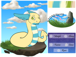 Greer - Dratini/Dunsparce by Whitefeathur