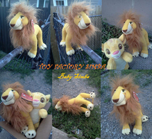 Toy Factory Simba and Baby Simba by Heatherannpt