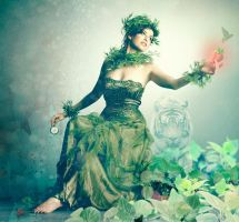 Artemis... or Mother Nature... by GretheFenyx
