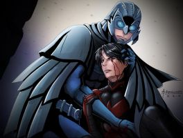 Under the Talon of Owlman by AlphaLunatic