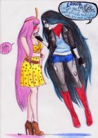 Bubbline: I like your dress. Take it off. by Super-Nat