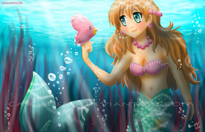 A Mermaid's Heart by Cascadena