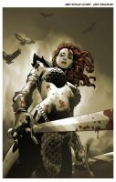 Song of Red Sonja by urban-barbarian
