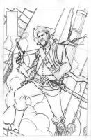 Pirate Commission pencils by jciolli