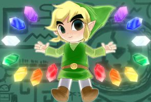 The Legend of Zelda Spirit Tracks by Arashi-H