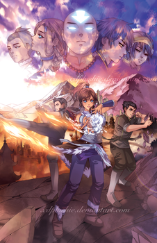 Legend of Korra: The Next Generation by miho-nyc