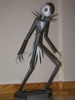 Jack Skellington Papercraft by killero94