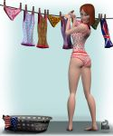 Laundry Day with SuzyQ 2 by TuppenceMoon