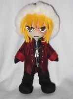 Mello Plushie by kamidake