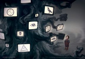 TV Tree by Nord-Sol
