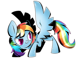 Rainbow Dash by PegaSisters82