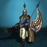 BioShock Infinite Mechanized Patriot Clean by ArmachamCorp
