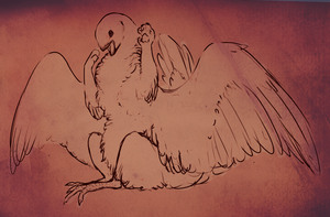 ChickenWavingCutetexturepng by Laughing-Dove