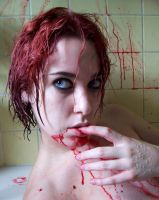 Blood Shower VIII by fetishfaerie-stock