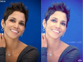 Halle Berry Before And After by asmith9O