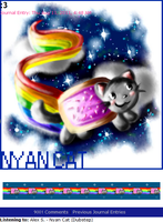 Nyan Cat - Journal Skin by Vexcel