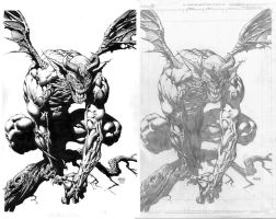 Nix Inks Over Finch Pencils by SkeetNix