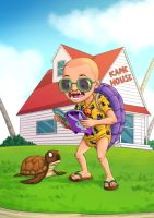 Young Master Roshi by rezahales