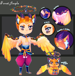 Adoptable: Forest Angel Species 1 {OPEN} by rainbowstar-chan