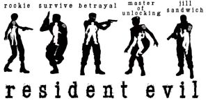 Resident Evil Remake (The Cast) by BloodFromHate