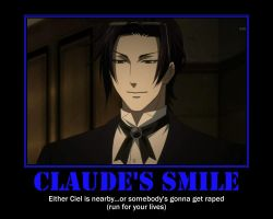 Claude's smiles by catgirl3157