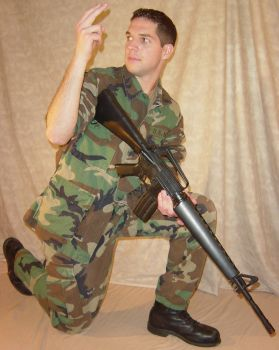 Ryan Soldier at the Ready 6 by FantasyStock
