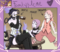 We Are Family by saurodinus