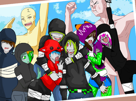 Left 4 Dead collab by Carlie-NuclearZombie