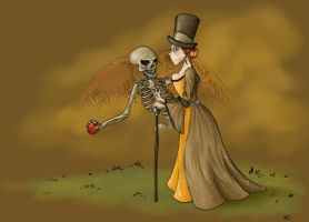 Death and a Lady by Tatter-Hood
