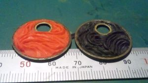 PolymerClay jewelry:abstract by yayoyamber