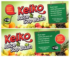 Banner For Local Juice Stand by hamdirizal