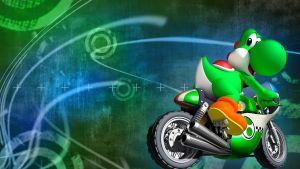 YOSHI WALLPAPER by linkintek06