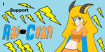 I Support Rai-Chan by MarioBlade64