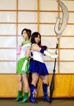Sailor Jupiter and Saturn by Lightning--Baron