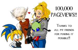 Thanks for 100k Pageviews by ShadOBabe