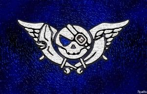 Blue Rogue's Flag by Spo0n-the-Cynic