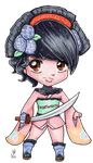 #Wotustream Request: Momohime Muramasa by FreeToBeMeArt