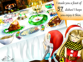 AF - SS : A Christmas Feast for Shin by EpicKeeper