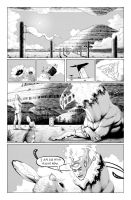 The One Minute War: Page A by turbofanatic